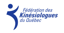 Logo Fédération des Kinésiologues du Québec