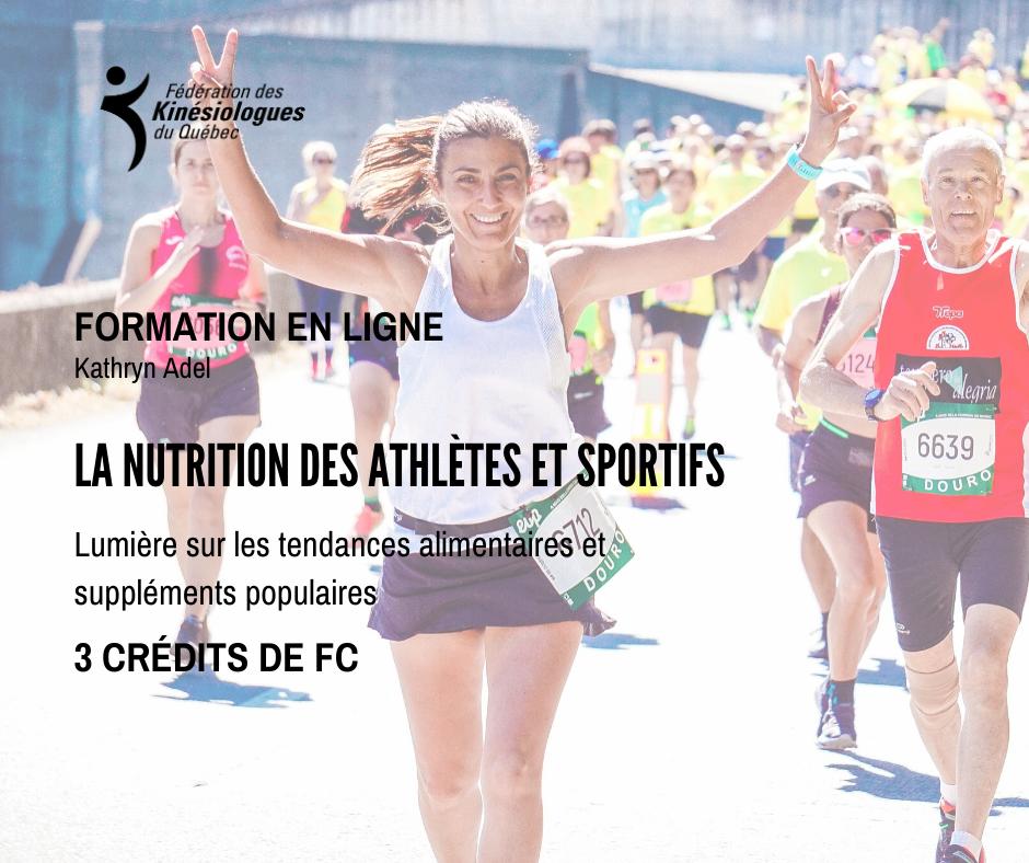 La nutrition des athlètes et sportifs- lumière sur les tendances alimentaires et suppléments populaires