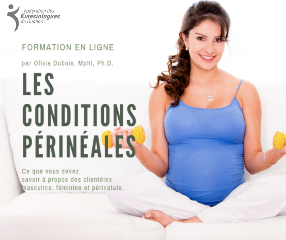 PERINEAL CONDITIONS - ONLINE TRAINING (in French Only)
