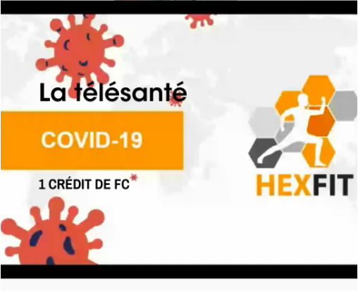 COVID-19 telehealth by Hexfit (IN FRENCH ONLY)