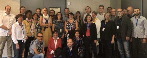 Photo de participant(e)s aux Ateliers de Brest 2018