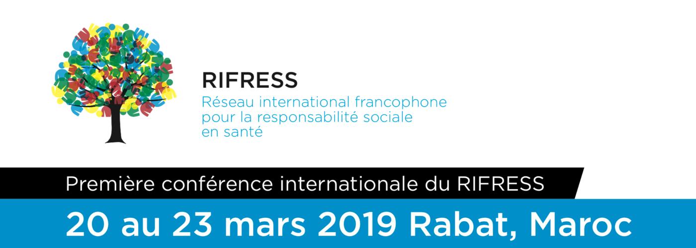 Première conférence internationale du RIFRESS
