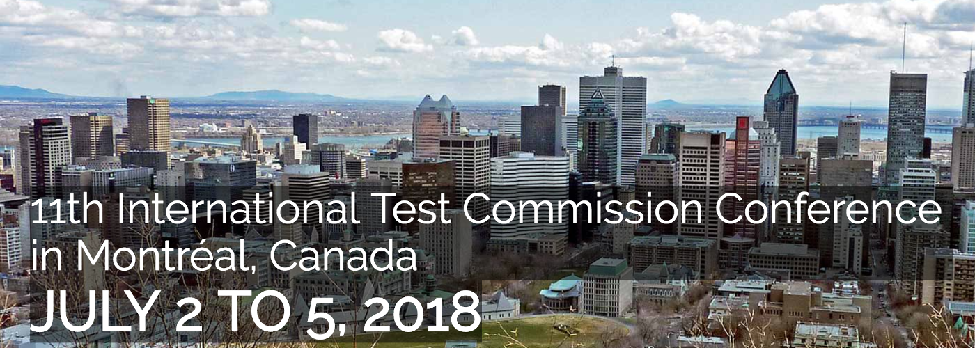 11th International Test Commission 2018 Conference
