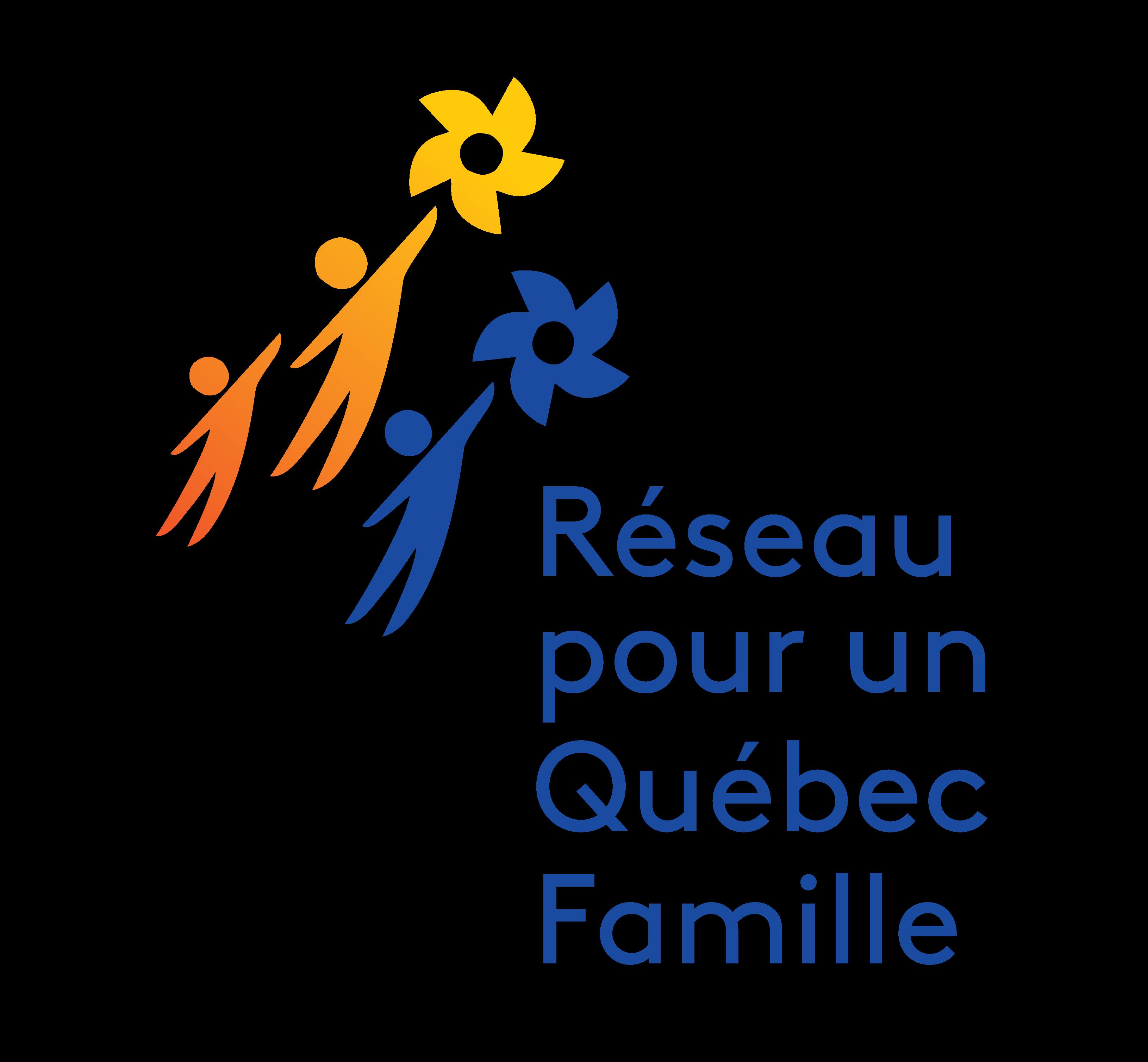 Logo Réseau pour un Québec Famille