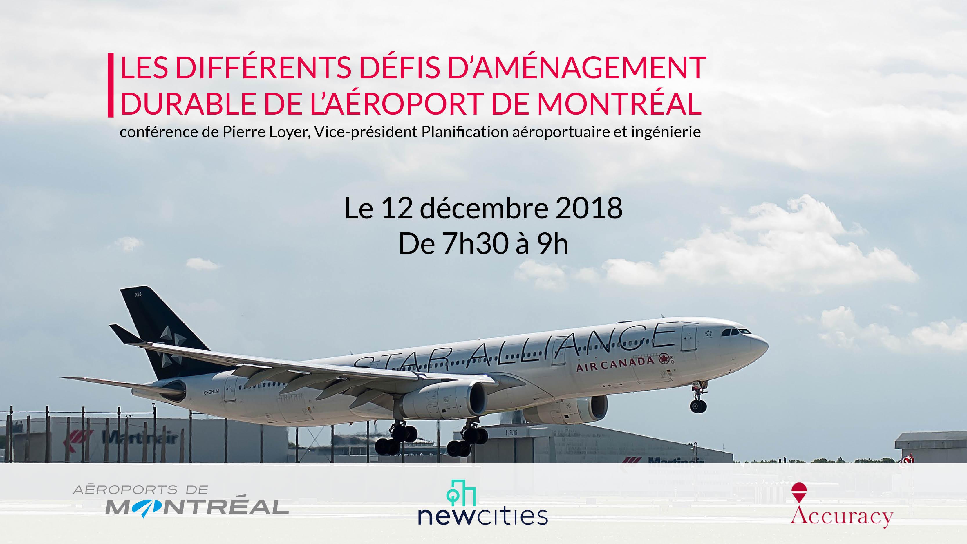 Conférence Aéroports de Montréal