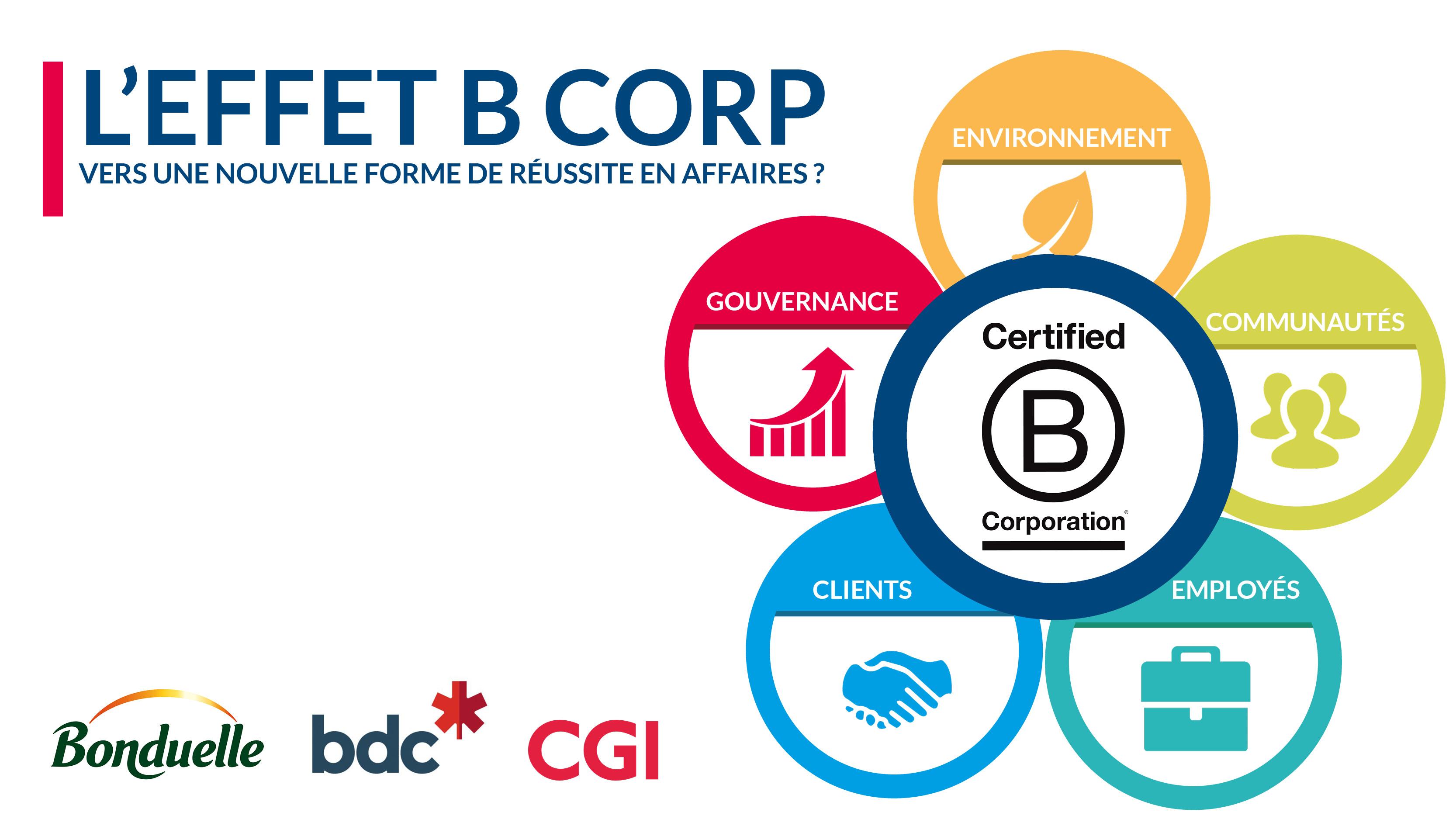 L'effet B CORP: vers une nouvelle forme de réussite en affaires?