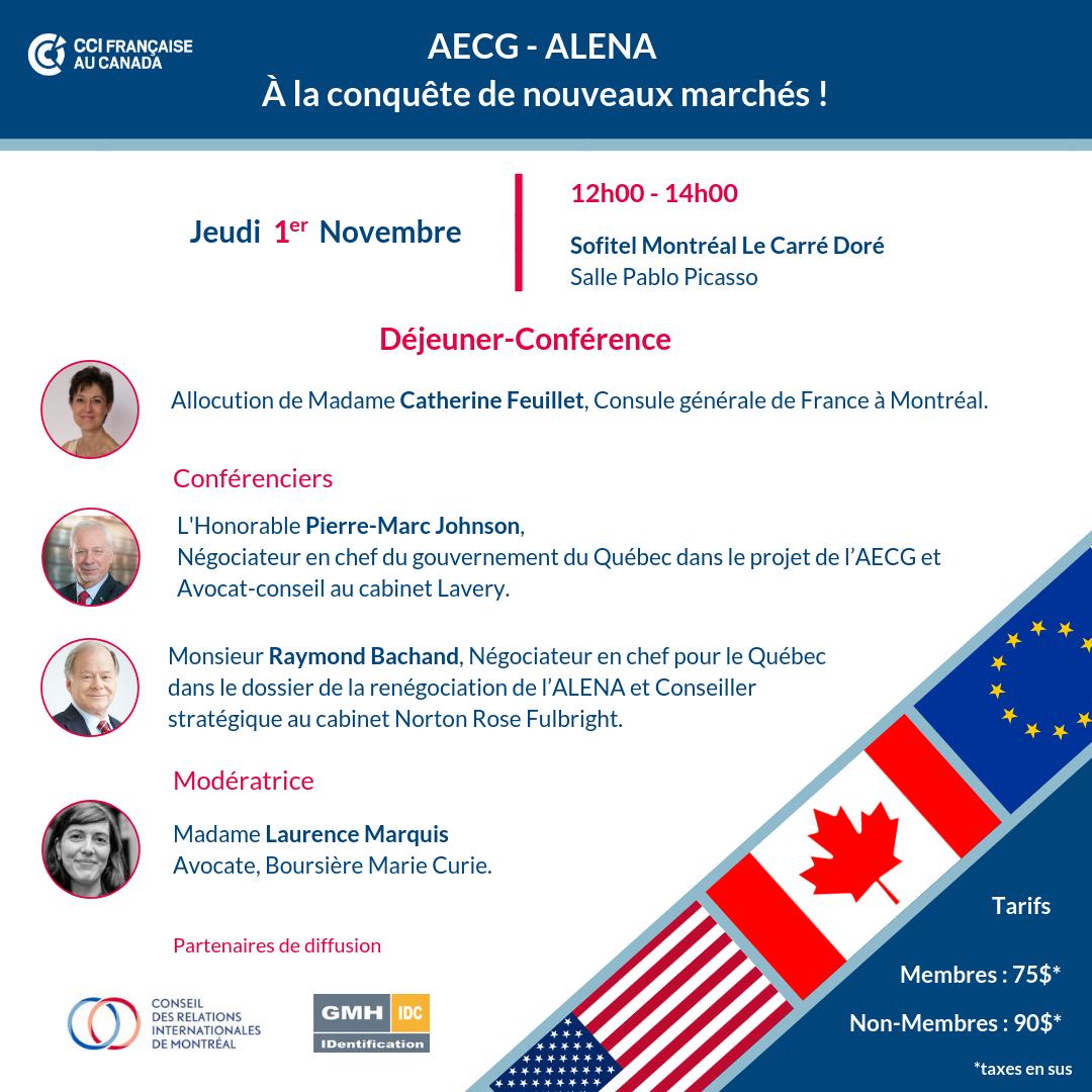 CETA - ALENA : À la conquête de nouveaux marchés !