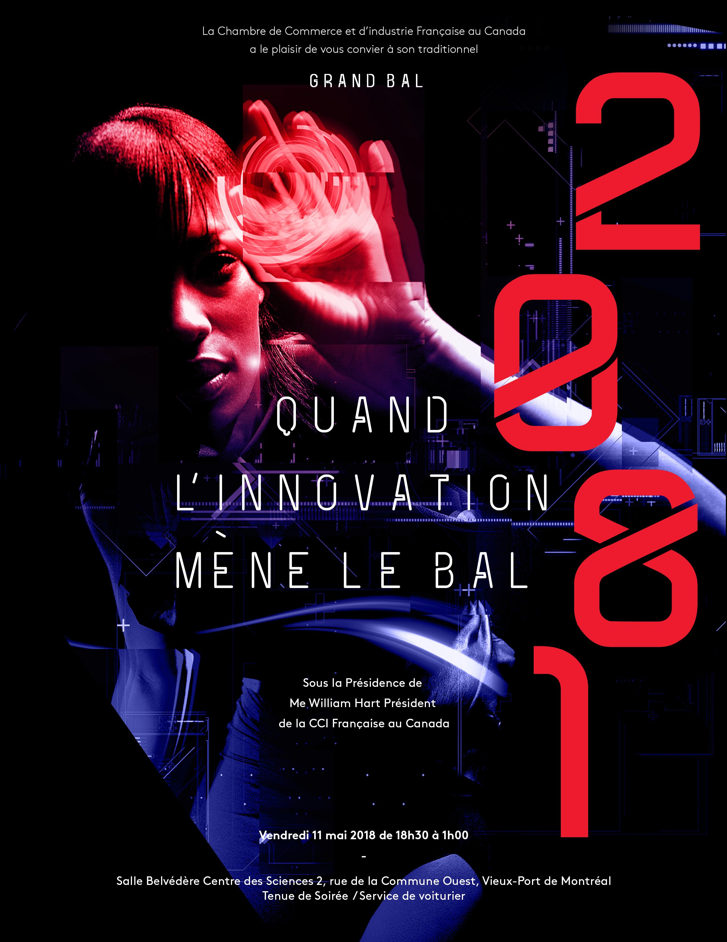 Grand Bal de la Chambre de Commerce et d'Industrie Française au Canada    -Quand l'Innovation mène le Bal -