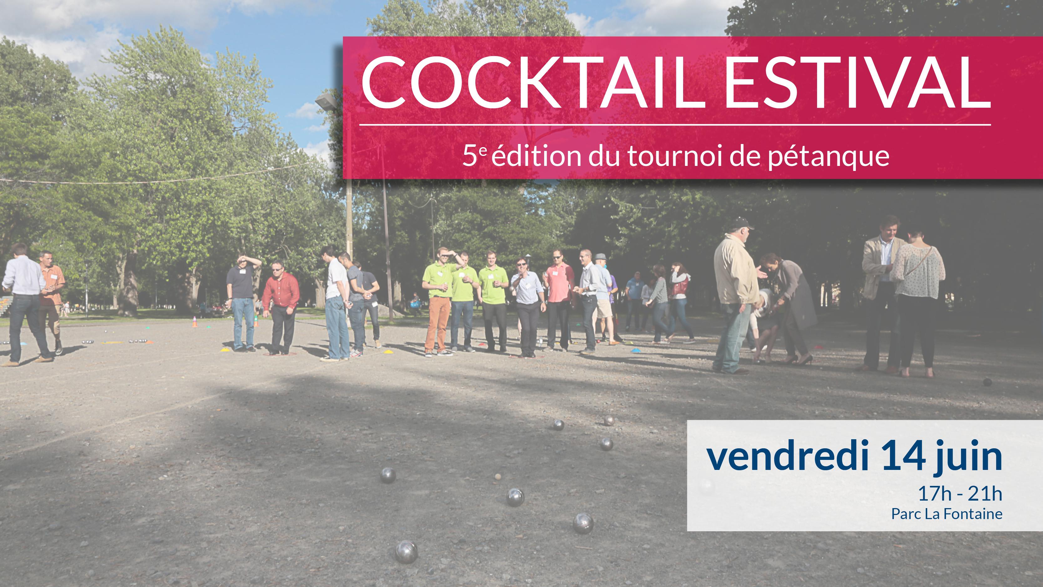 Cocktail estival- Tournoi de pétanque