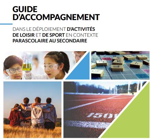 Programme Édu-loisir / guide d'accompagnement d'activités de loisir et de sport parascolaires au secondaire