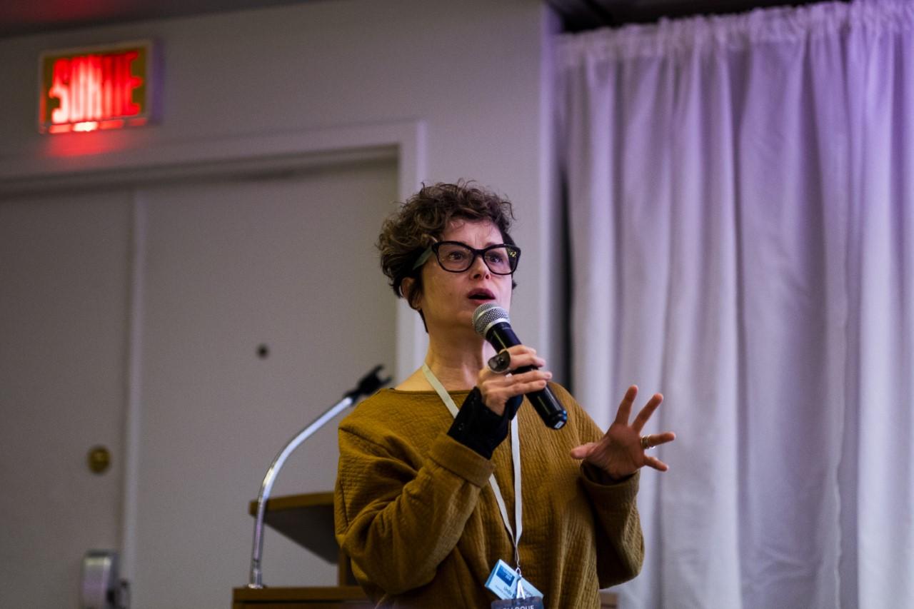 Lynda Binhas,Ph.D, chargée de projet en recherche et analyse, Comité sectoriel de main-d'œuvre de l'économie sociale et de l'action communautaires