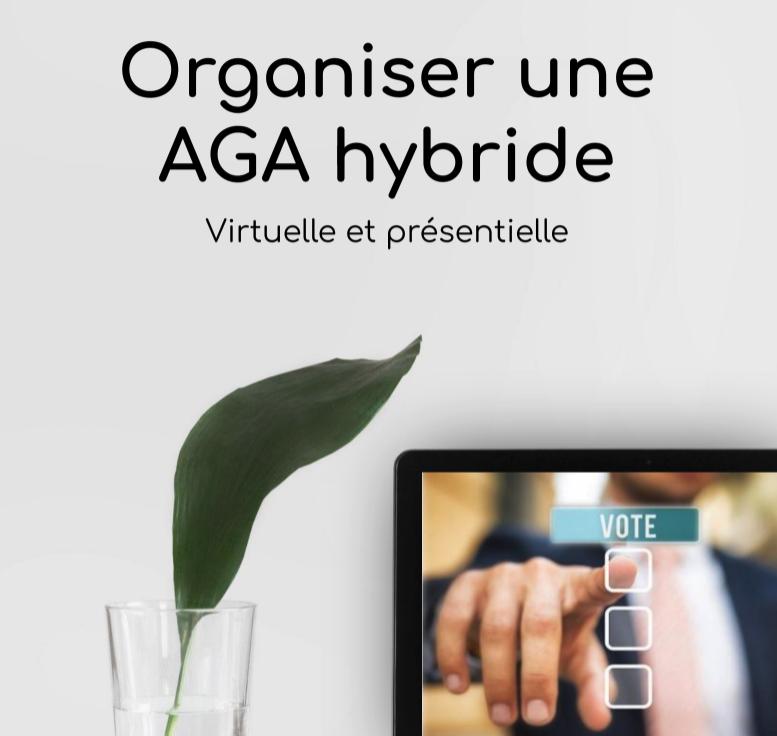 Livre blanc: Organiser une AGA hybride