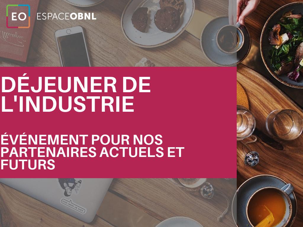 Petit déjeuner de l'industrie - 23 avril 2020 - QUÉBEC