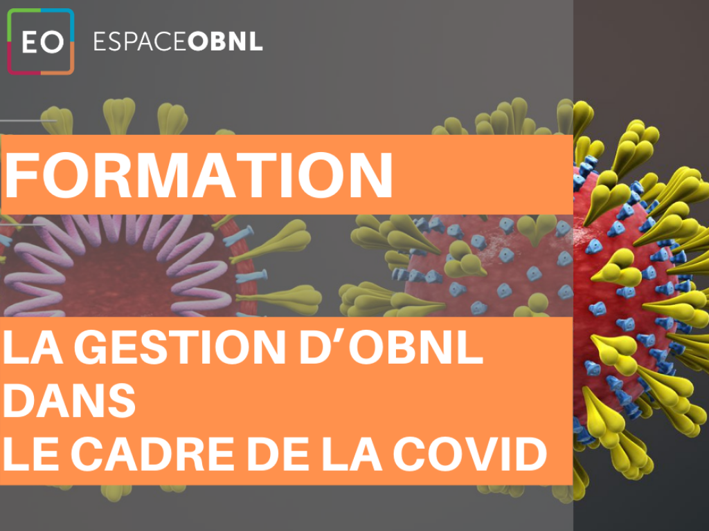 La gestion d'OBNL dans le cadre de la COVID-19 - 24 février 2021