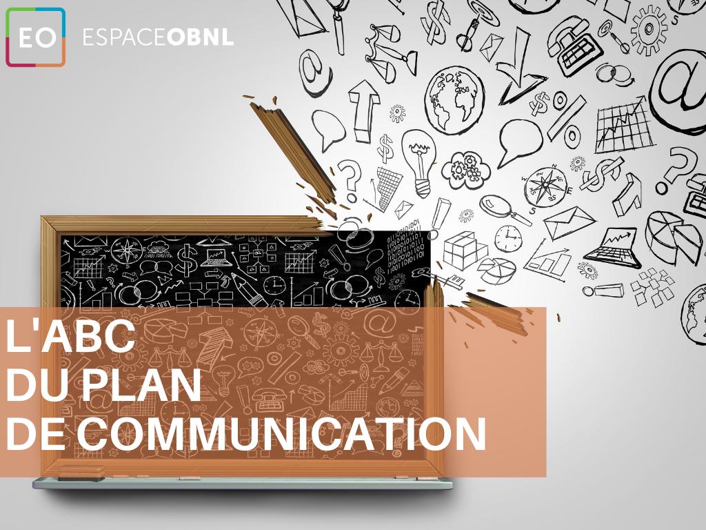 L'ABC du plan de communication - 24 novembre 2021