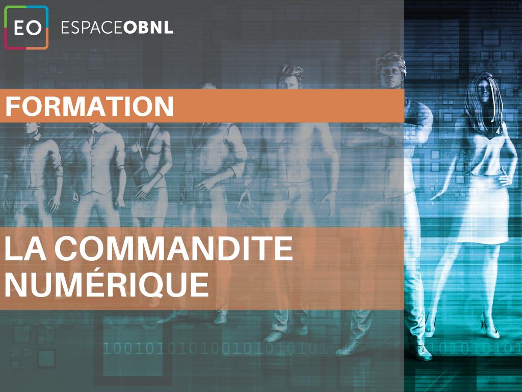 Formation - La commandite numérique - 4 novembre 2021