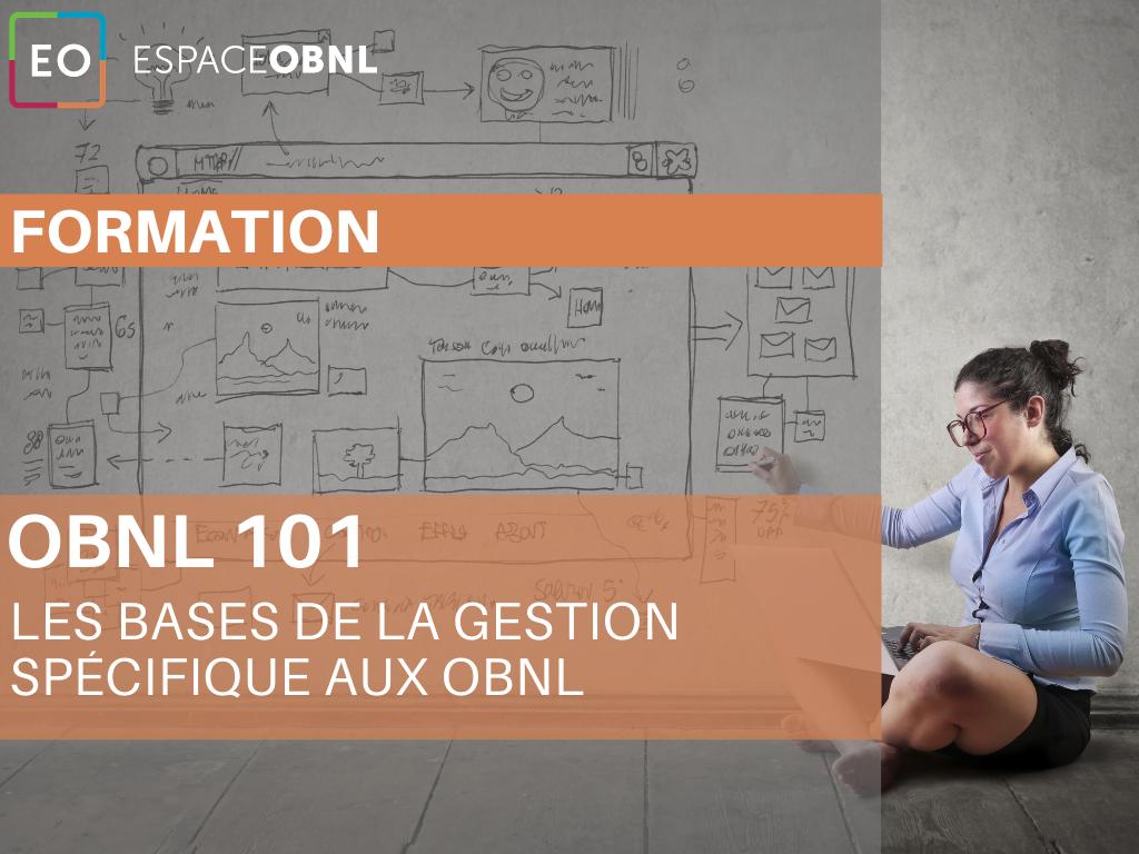 OBNL 101 – les bases de la gestion spécifique aux OBNL - 1 décembre 2021