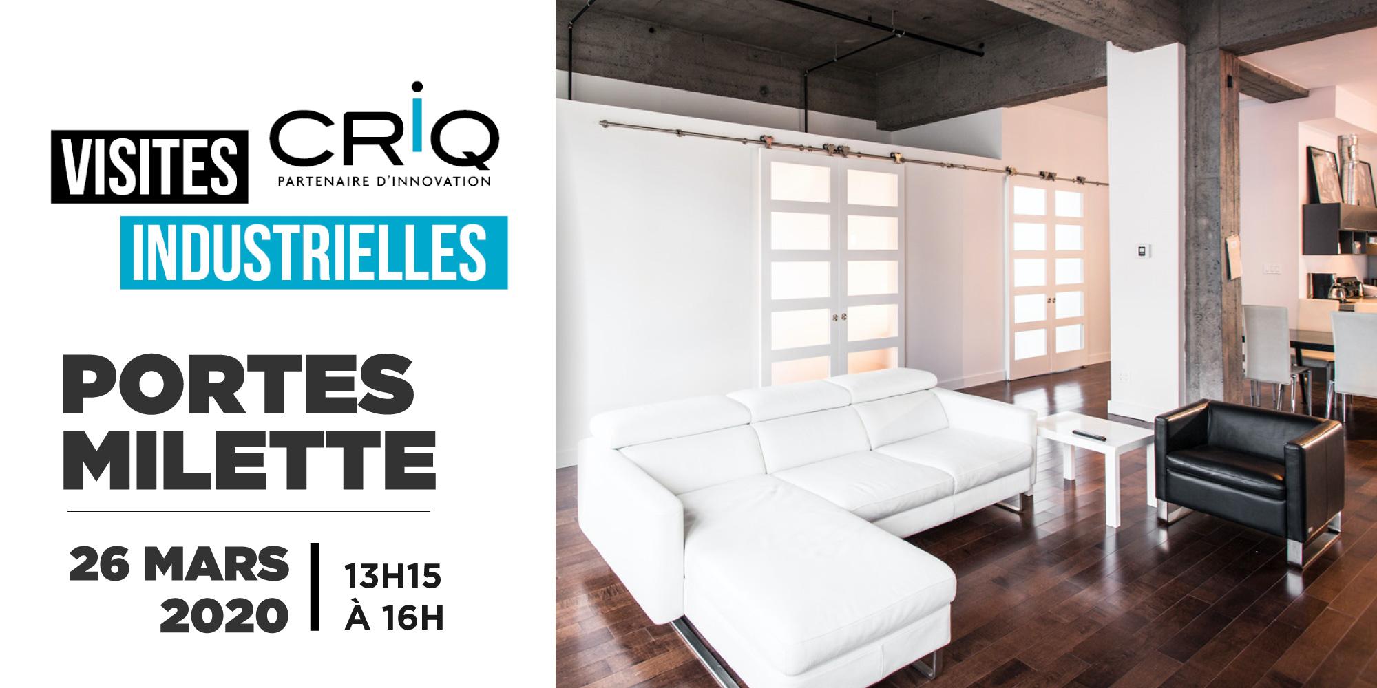 Visite industrielle CRIQ Portes Milette