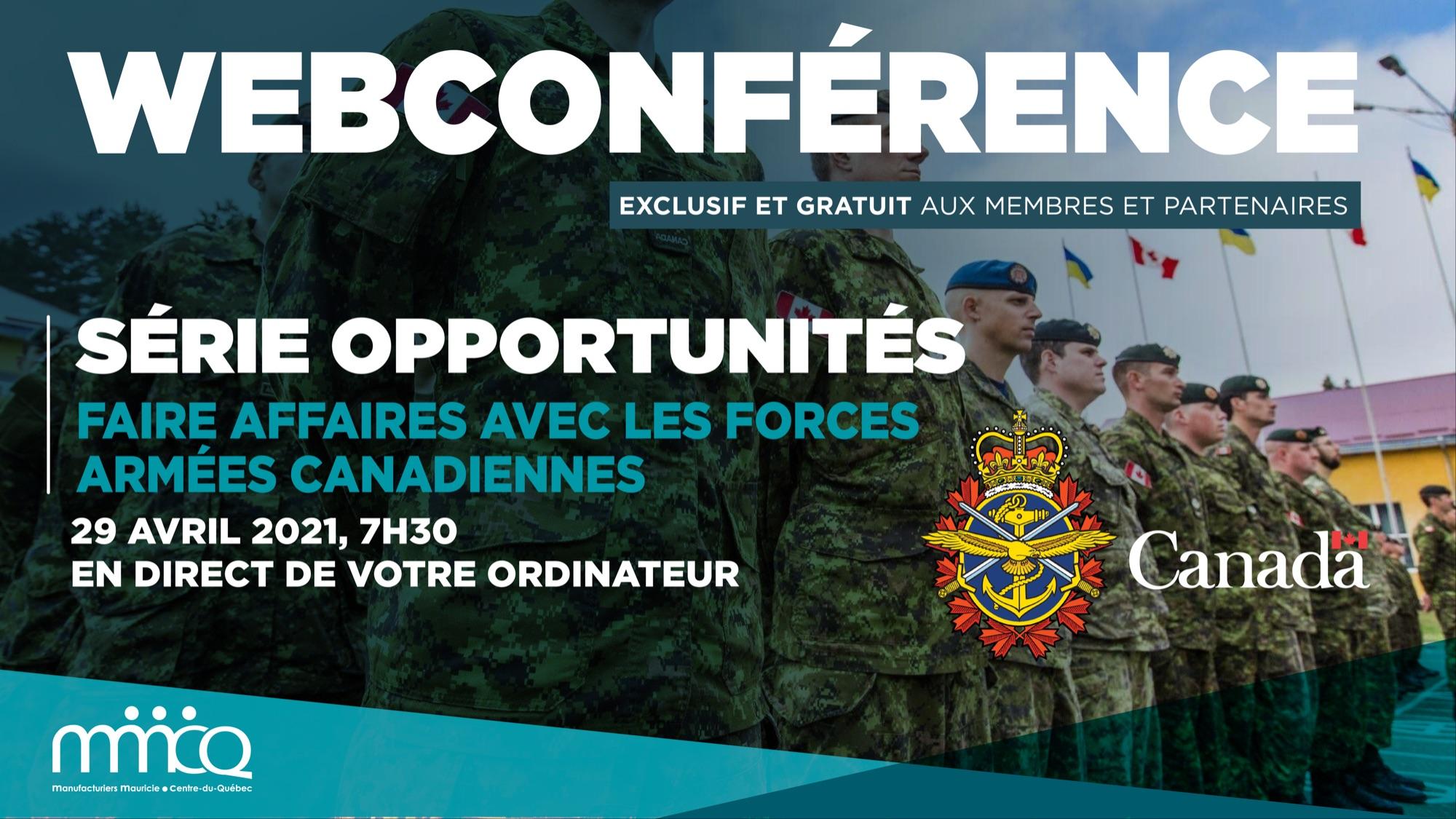 Faire affaires avec les Forces armées canadiennes