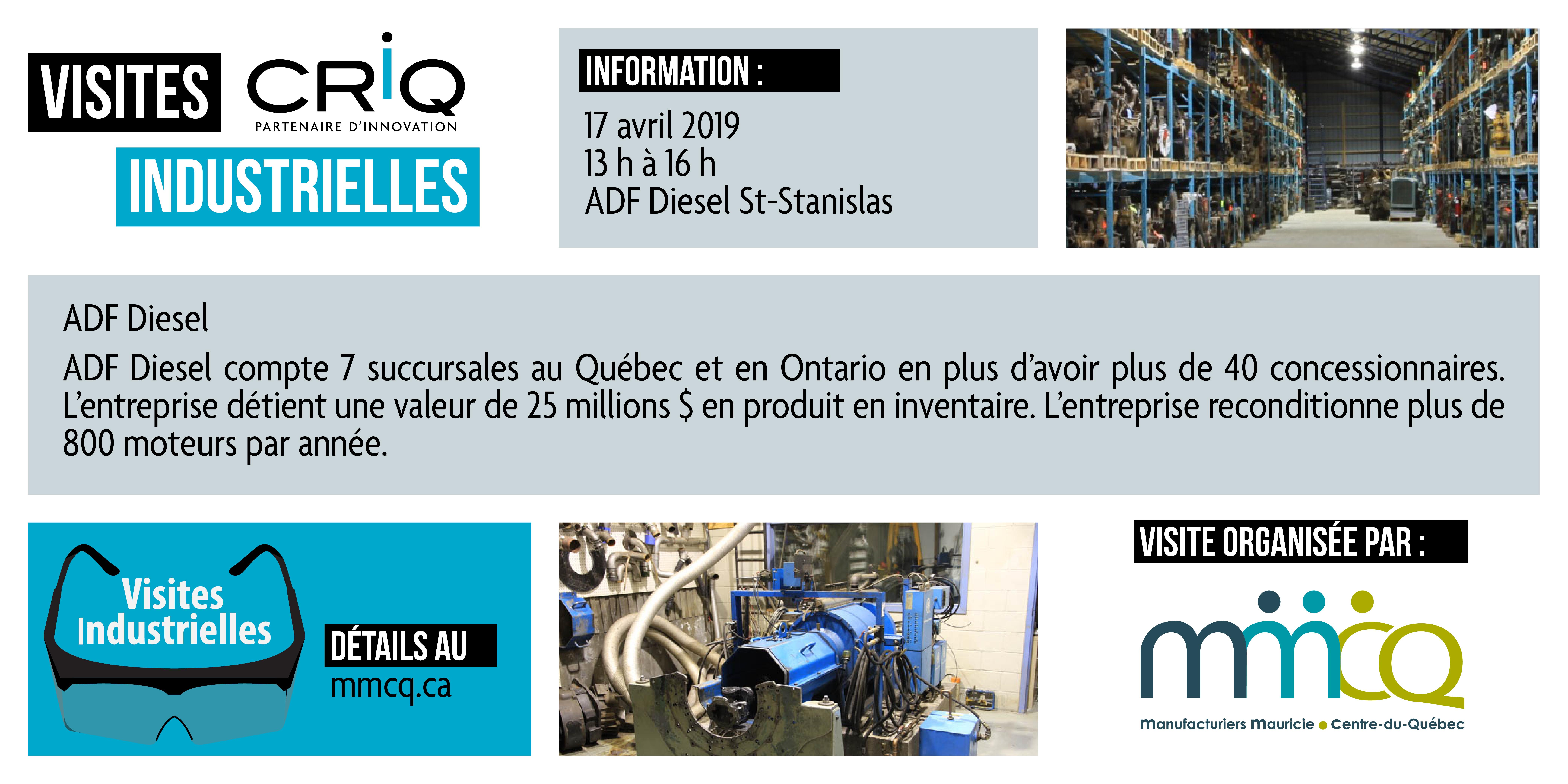 Visite industrielle CRIQ ADF Diesel