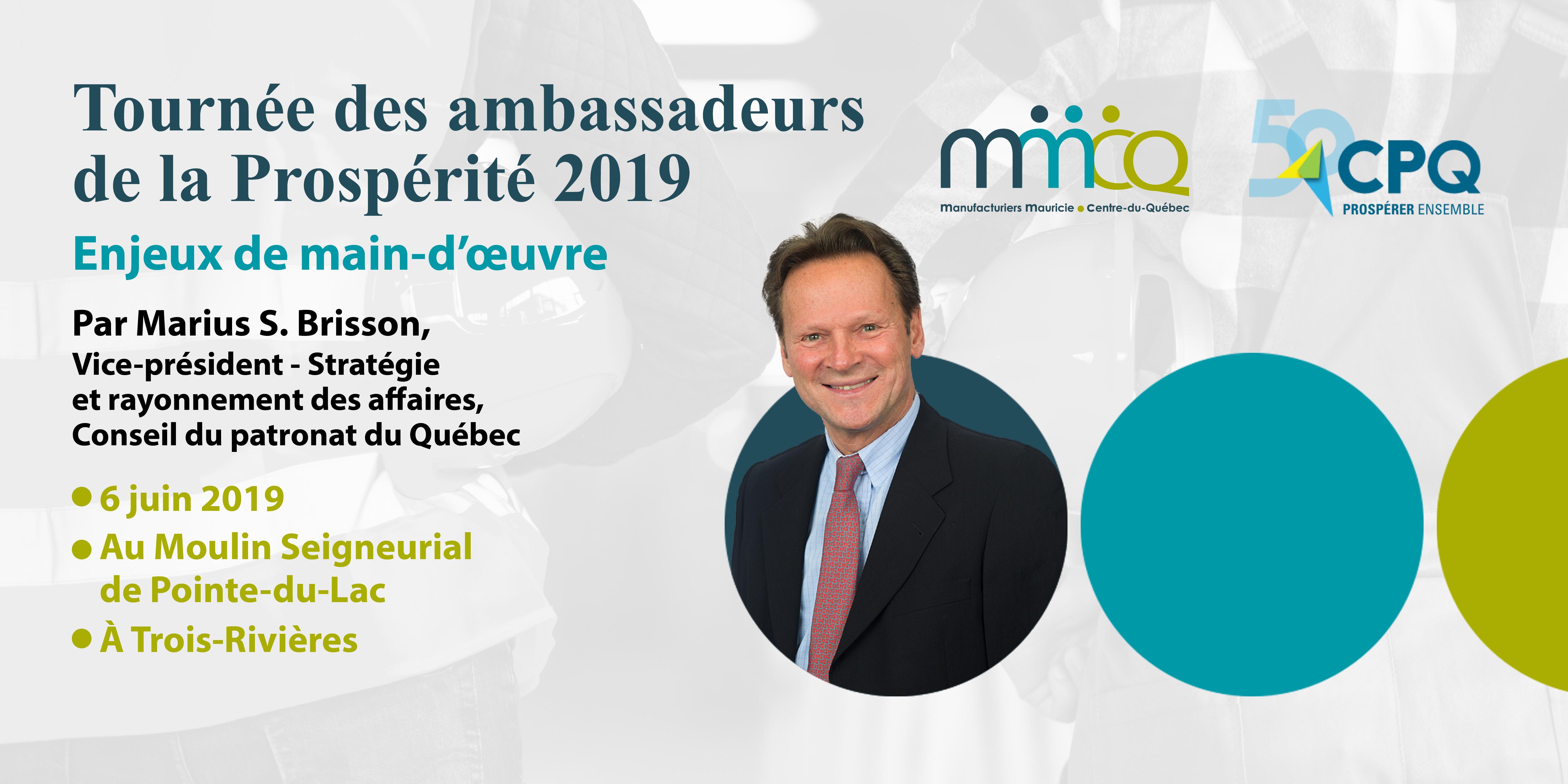 Tournée des ambassadeurs de la Prospérité 2019