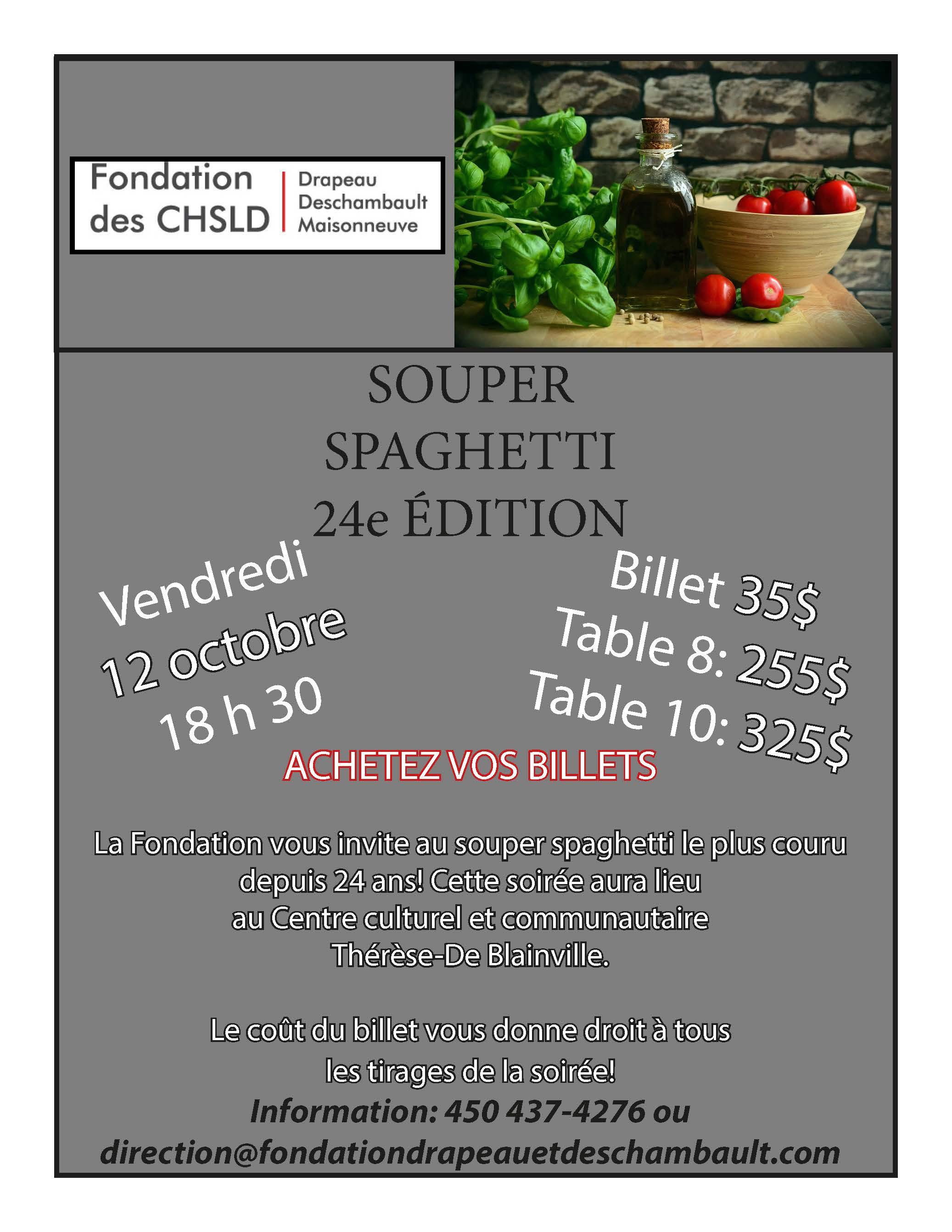 24e Souper Spaghetti
