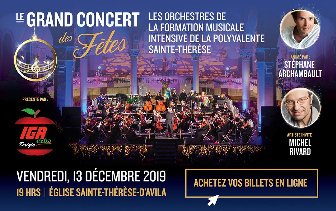Grand concert des Fêtes 2019