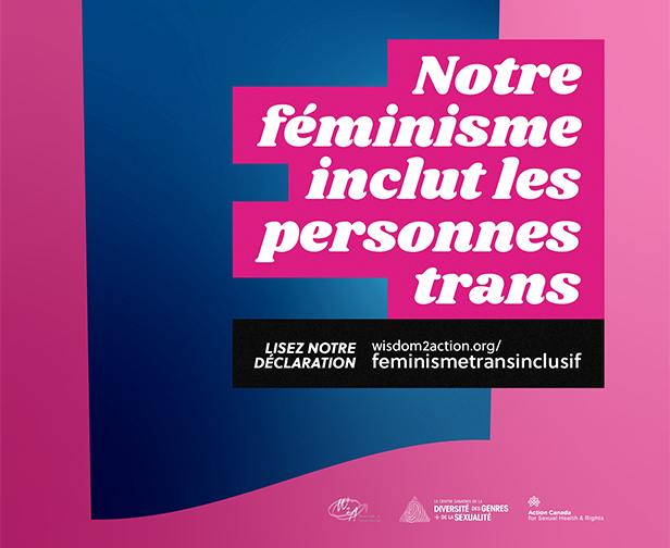 Notre féminisme inclut les personnes trans