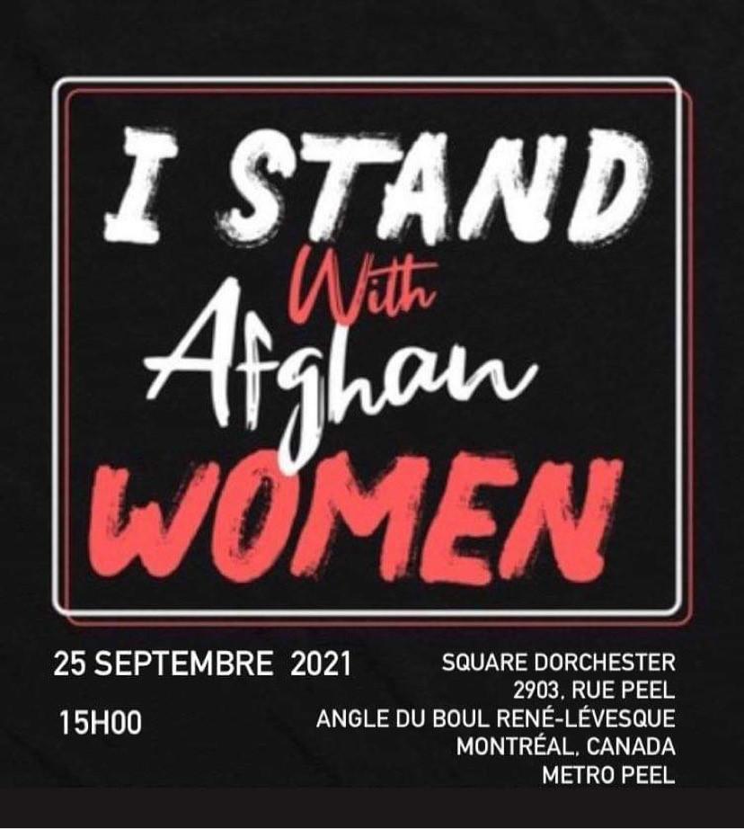 En solidarité avec les femmes afghanes