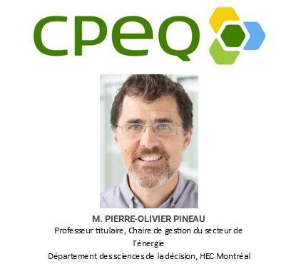 Présentation du rapport Réglementation de l'énergie au Québec