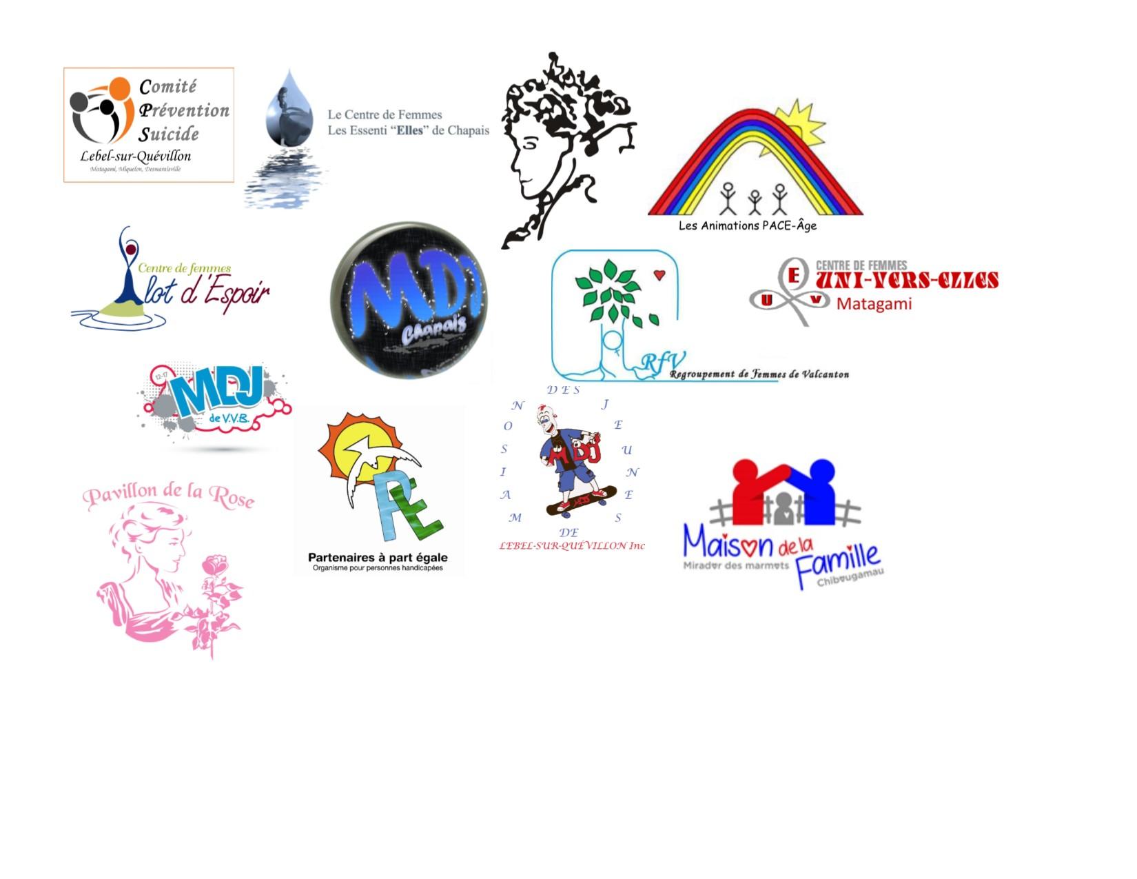 Nos organismes membres 2018-2019
