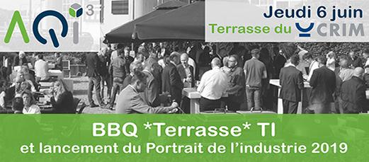 BBQ Terrasse et lancement du Portrait de l'industrie de l'AQIII