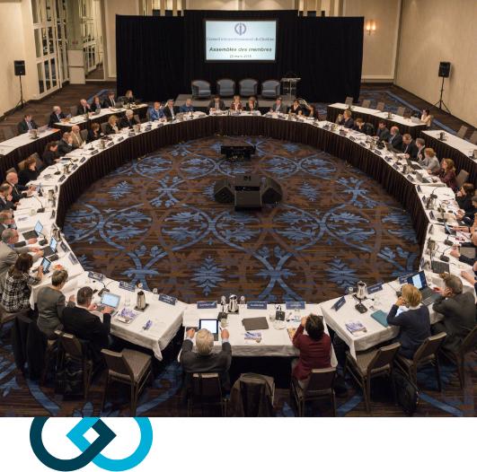 L'assemblée des membres