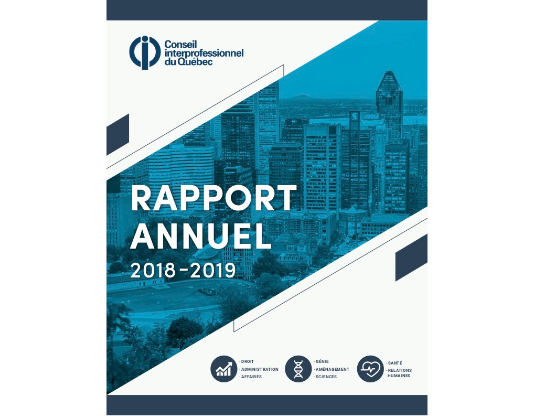 Rapport annuel principal image