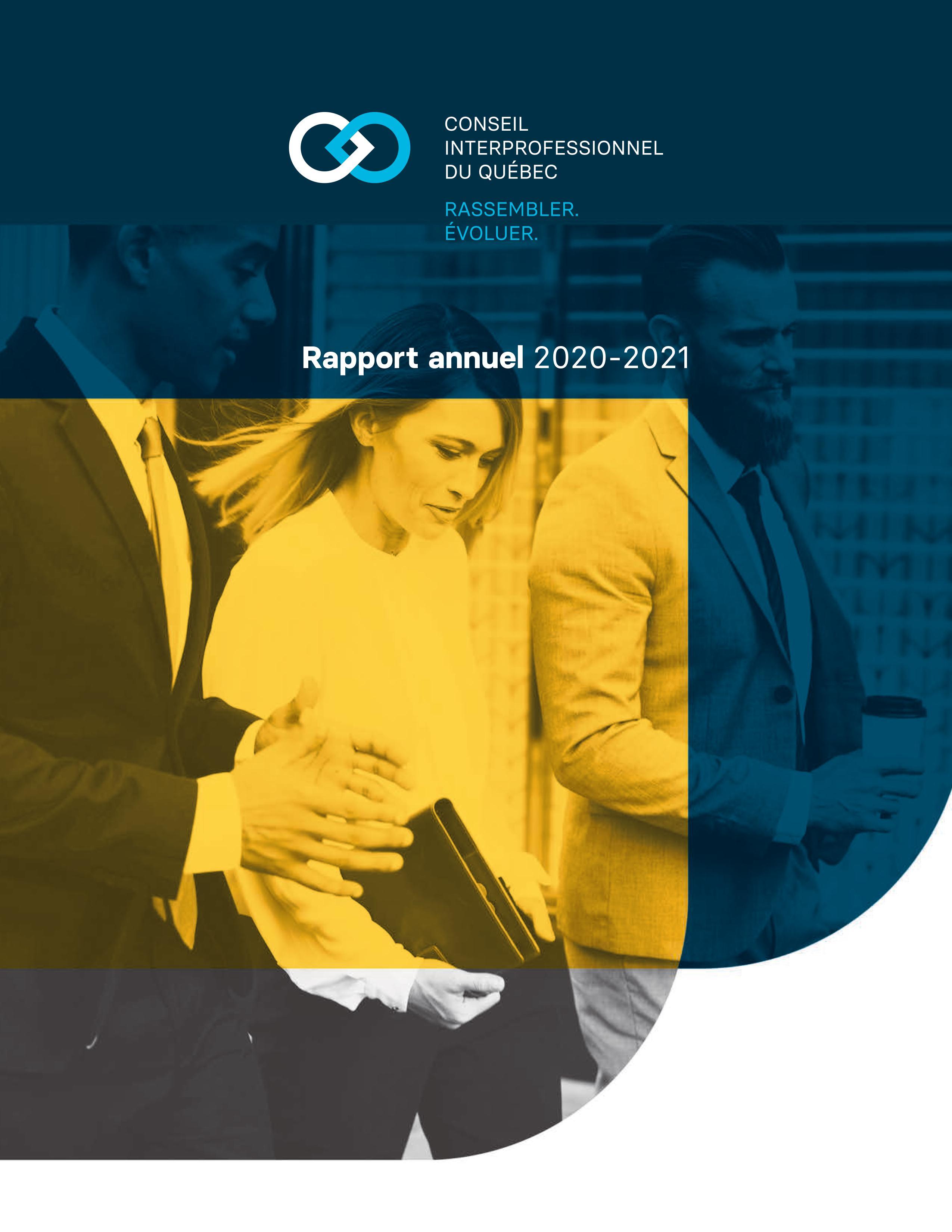 Rapport annuel principal