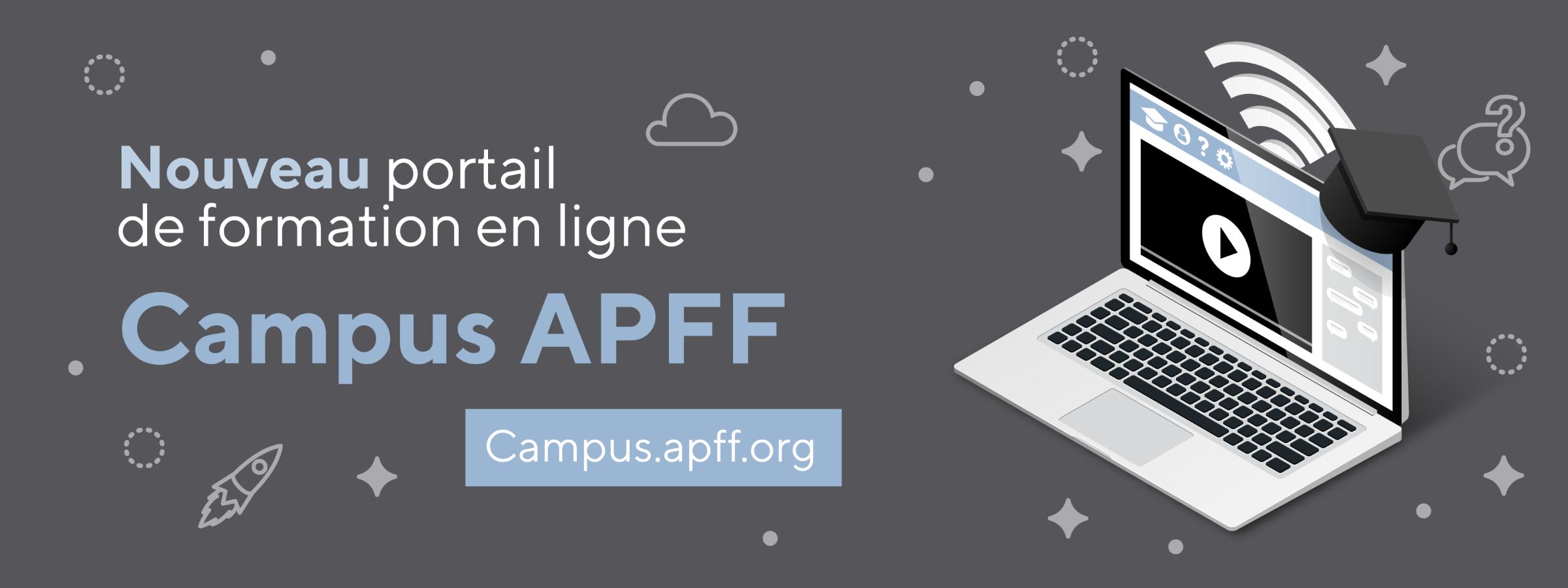 L'APFF lance un nouveau portail de formation en ligne!