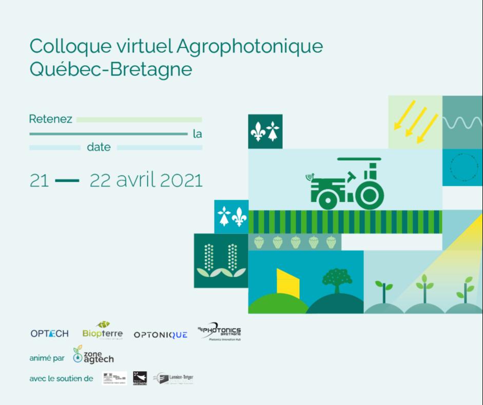Colloque virtuel agrophotonique Québec – Bretagne