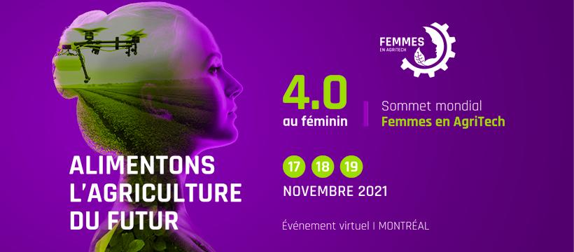 Sommet mondial AgriTech au féminin 2021