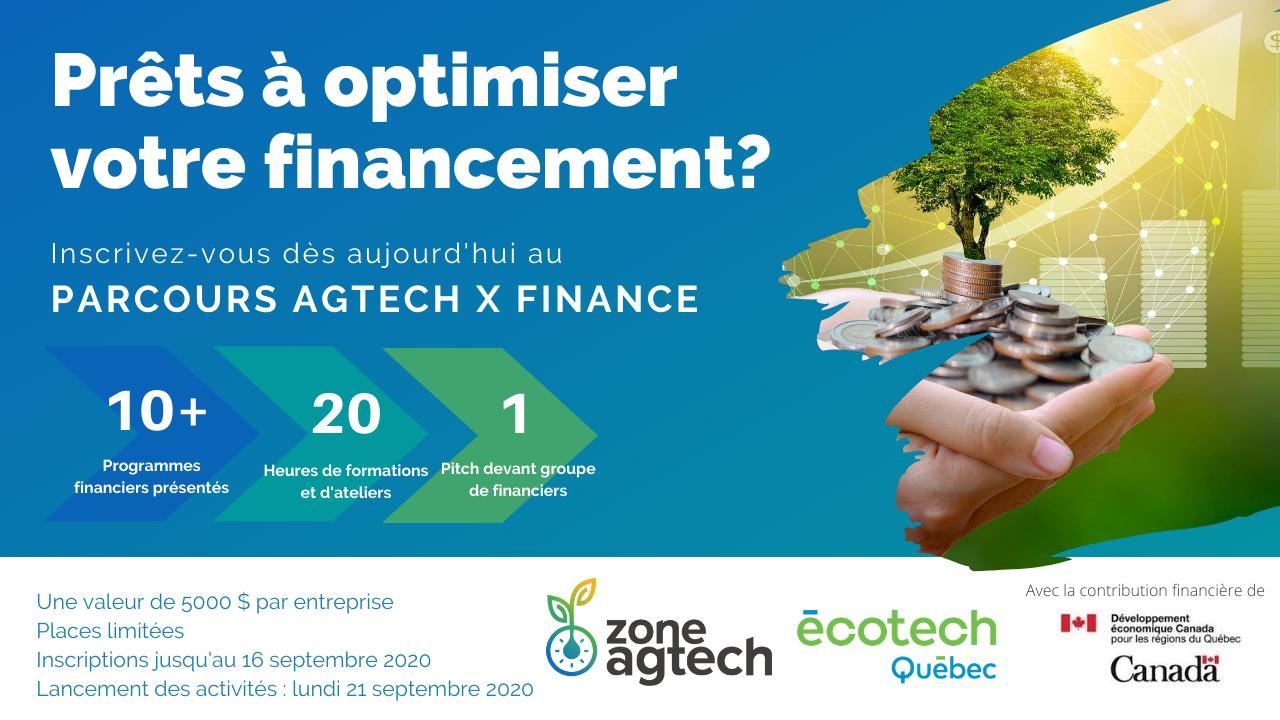 APPEL À CANDIDATURES | Parcours Agtech x Finance