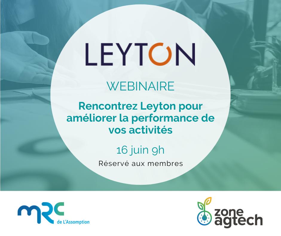 Webinaire de présentation | Leyton
