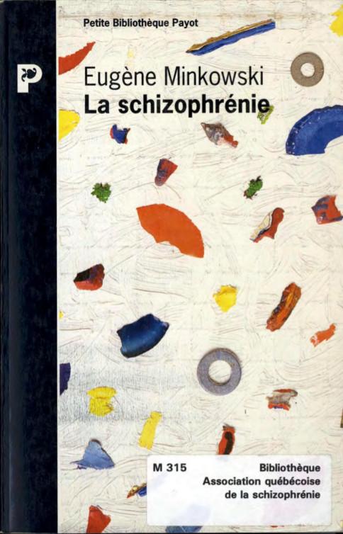 Minkowski - Schizophrénie