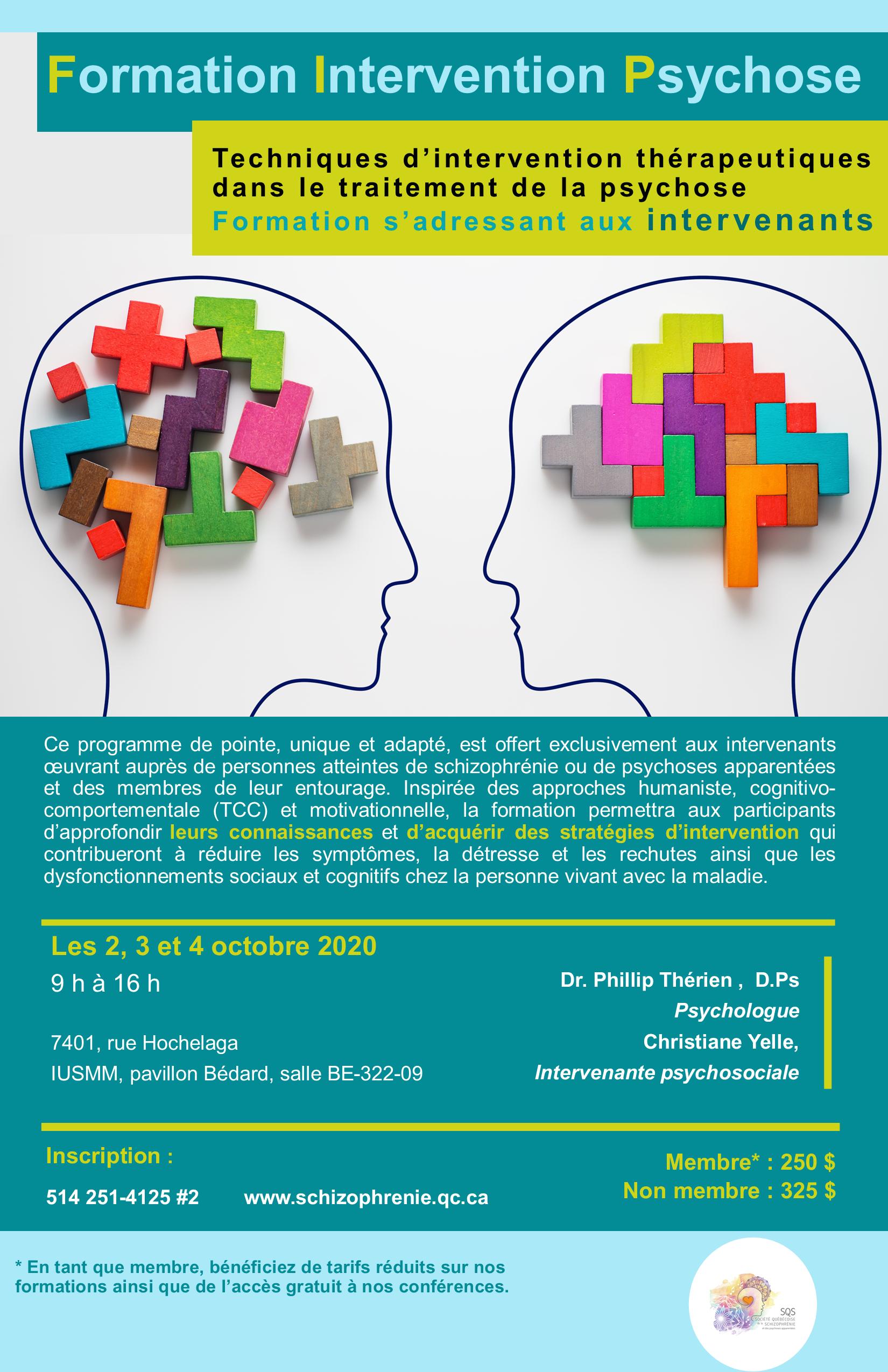 [COMPLET] Formation Intervention Psychose  - Techniques d'intervention thérapeutiques dans le traitement de la psychose