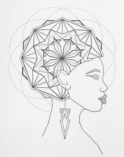Tête en couleurs - Atelier de Mandalas pour les personnes atteintes de schizophrénie