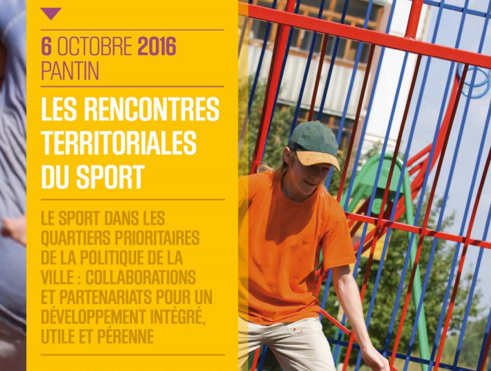 Les rencontres territoriales du sport le 6 octobre 2016