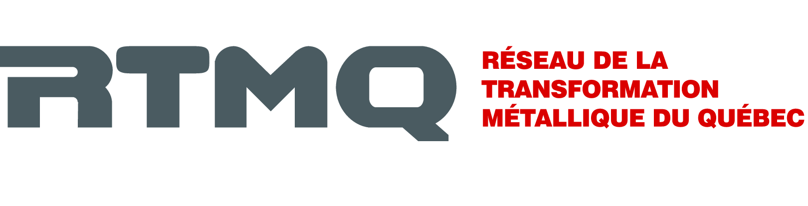 Logo Réseau de la transformation métallique du Québec