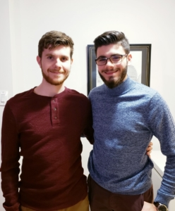 Gracieuseté Justin et Nicolas Gauthier aujourd'hui.