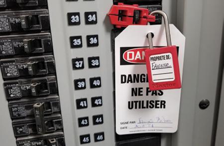 Cadenassage et autres méthodes de contrôle des énergies, une obligation légale!