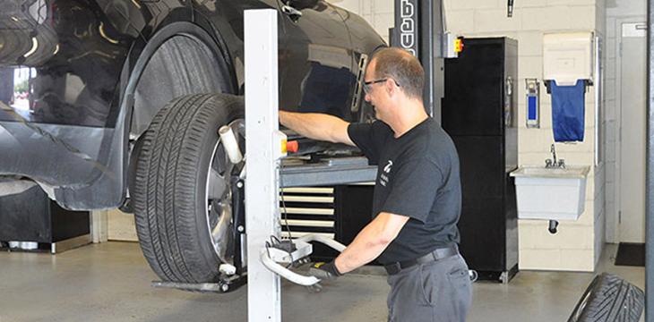 Manutention des pneus