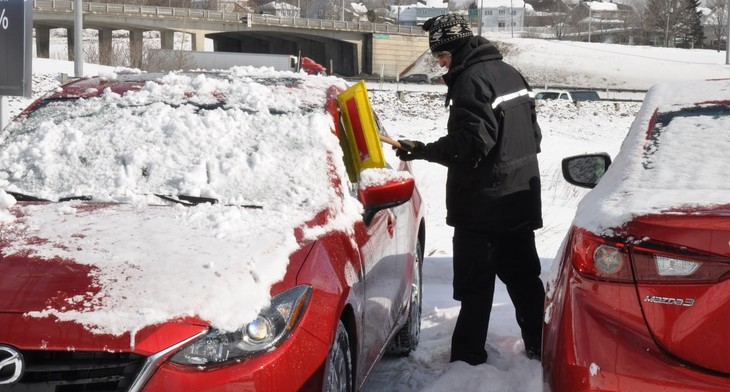 Dans le secteur des services automobiles, 1 accident sur 6 est une chute