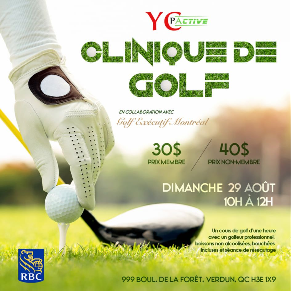 YCPActive – Golf Clinic